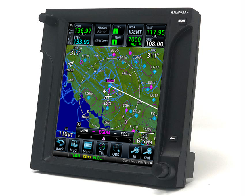RealSimGear - Affordable GPS controls for X-Plane, P3D & FSX