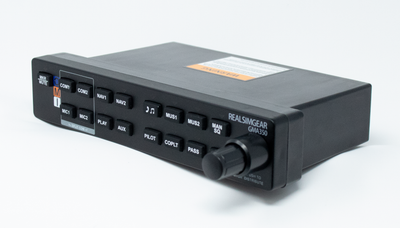 RealSimGear GMA350 Audio Panel for X-Plane, P3D & FSX