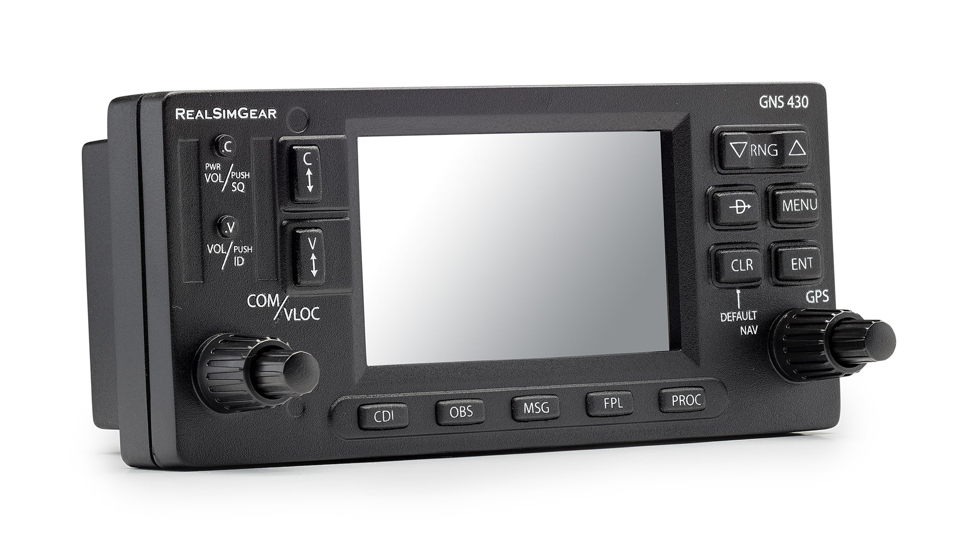 RealSimGear GNS430 Bezel for X-Plane and P3D