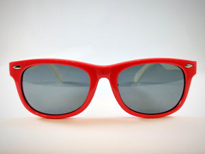 Central Park Wayfarers in Red