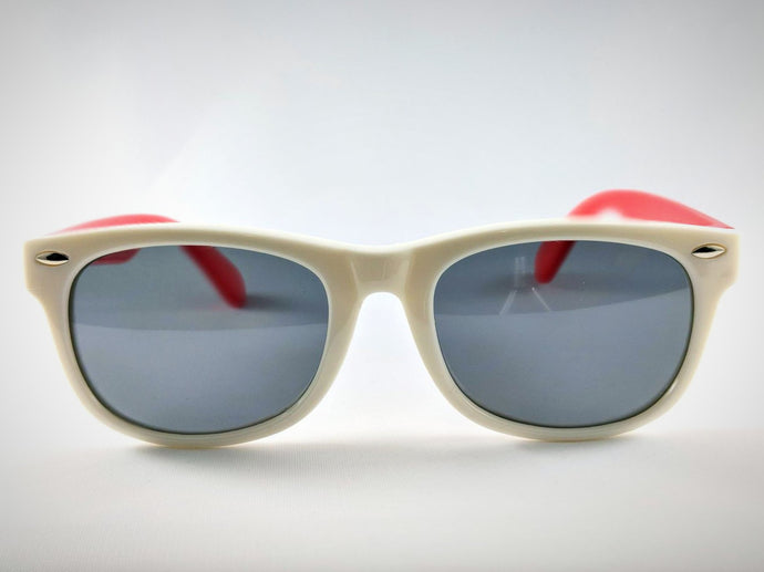 Central Park Wayfarers in White