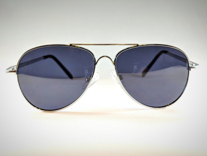 Arches Aviators in Silver