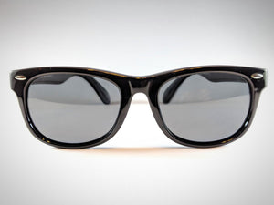 Central Park Wayfarers in Black