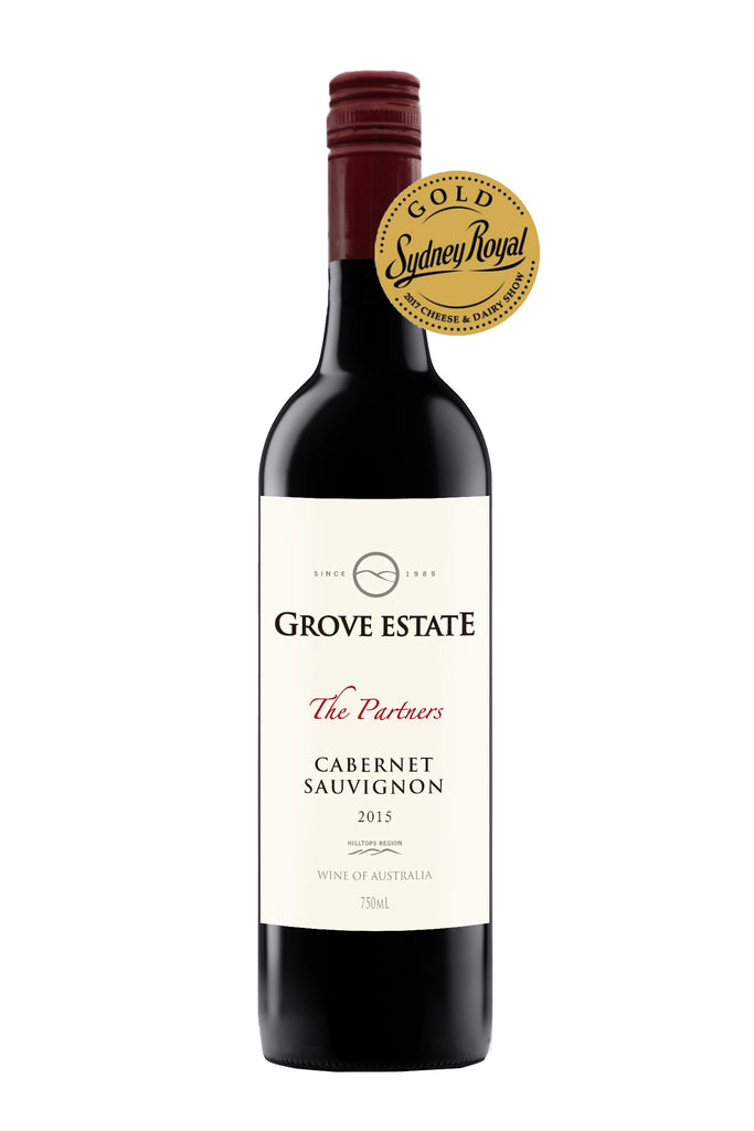 Grove Estate Hilltops The Partners Cabernet Sauvignon 2015 (Special Cellar Release)