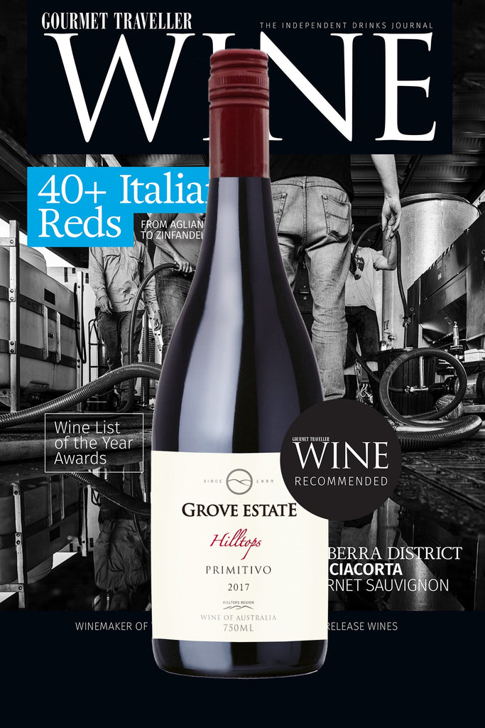Grove Estate Hiltops Primitivo 2017