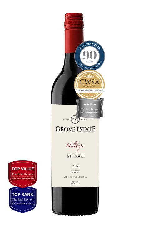 Grove Estate Hilltops Shiraz 2017