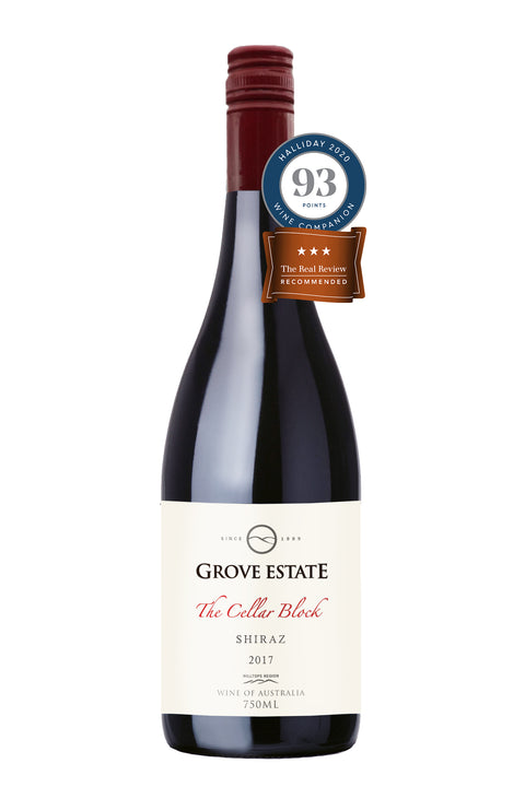 Grove Estate Hilltops The Cellar Block Shiraz 2017