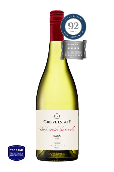 Grove Estate Hilltops Think Outside the Circle Fiano 2019