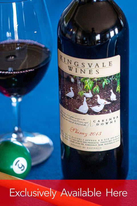 Kingsvale Wines Shiraz 2013 (Exclusively Available Here)