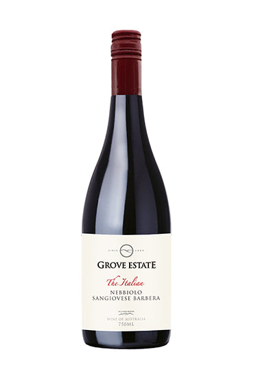 Grove Estate The Italian Hilltops Nebbiolo Sangiovese Barbera 2017