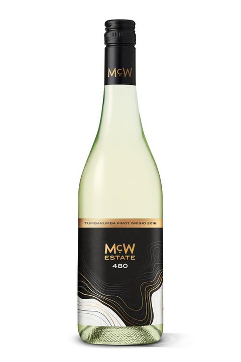 McWilliam's 480 Tumbarumba Pinot Grigio 2018 / 2020