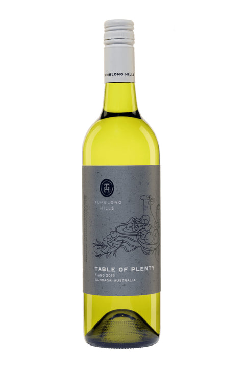 Tumblong Hills Gundagai Table of Plenty Fiano 2019