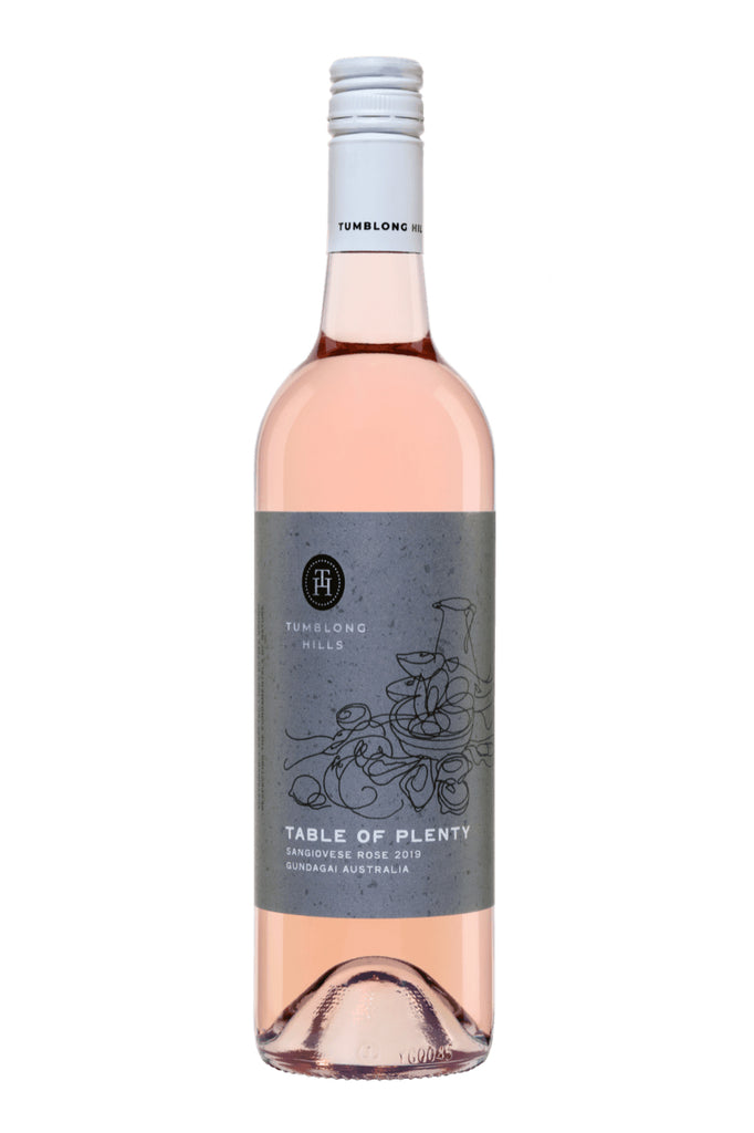 Tumblong Hills Gundagai Table of Plenty Sangiovese Rosé 2019