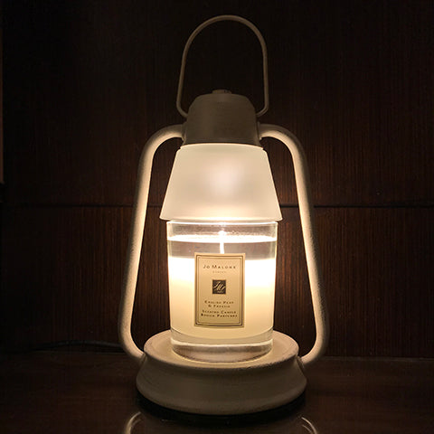 Jo Malone English Pear & Freesia Candle with Beacon Candle Warmer