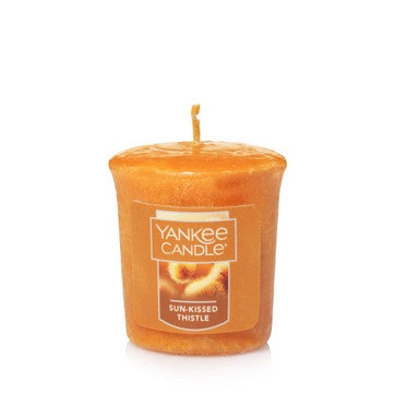 Sun-Kissed Thistle Samplers Votive Candle