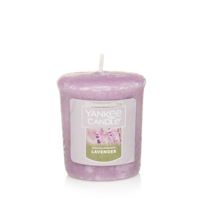 Lavender Samplers Votive Candle