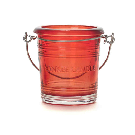 Ruby Bucket Votive Holder