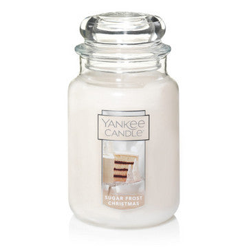 Sugar Frost Christmas Large Jar Candle
