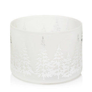Winter Trees Barrel Jar Shade