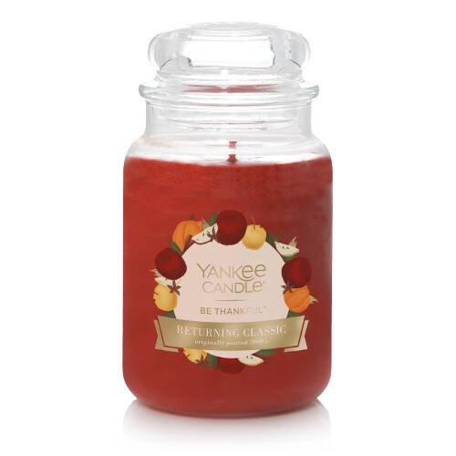 Be Thankful™ Large Jar Candle