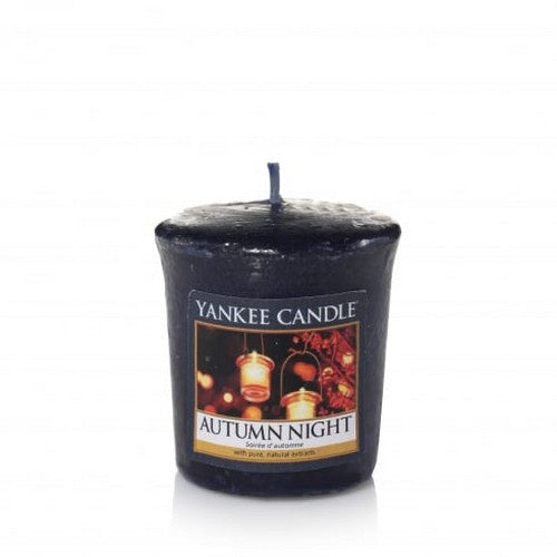 Autumn Night Samplers Votive Candle