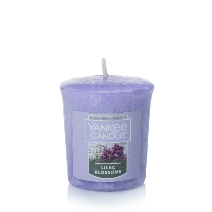 Lilac Blossoms Samplers Votive Candle