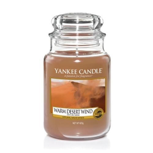 Warm Desert Wind Large Jar Candle