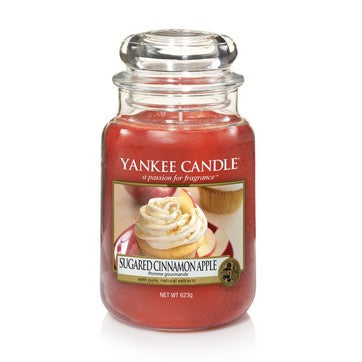 Sugared Cinnamon Apple Large Jar Candle