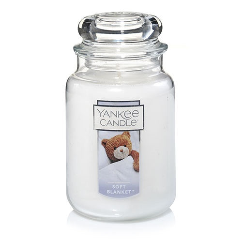 Soft Blanket Large Jar Candle
