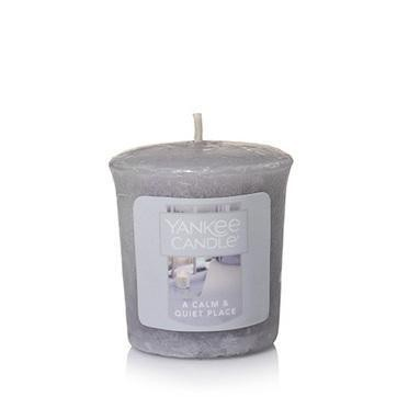 A Calm And Quiet Place Samplers Votive Candle