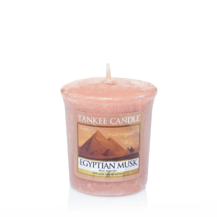 Egyptian Musk Samplers Votive Candle