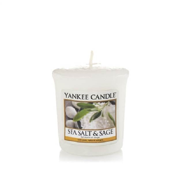 Sea Salt & Sage Samplers Votive Candle