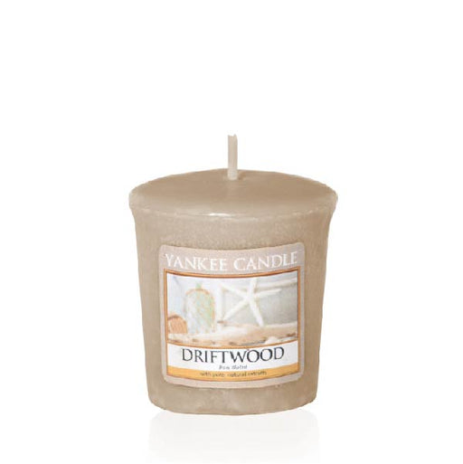 Driftwood Samplers Votive Candle