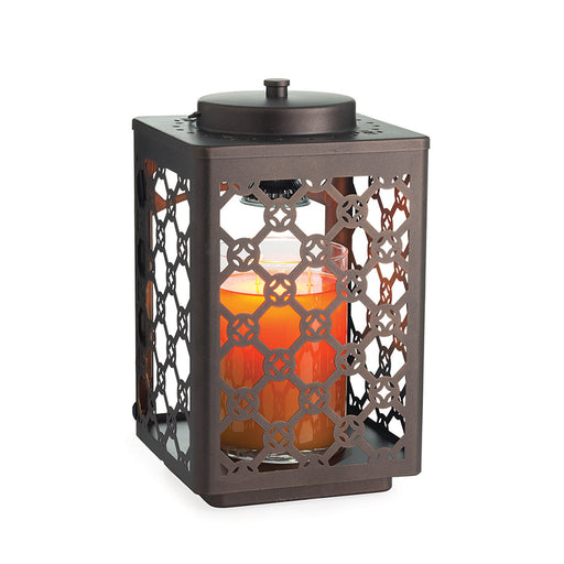 Garden Lantern Oil Rubbed Bronze Candle Warmer
