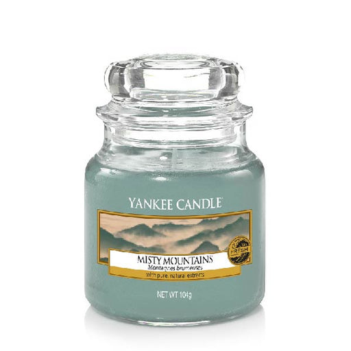 Misty Mountains Small Jar Candle