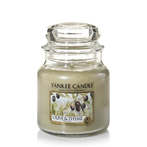 Olive & Thyme Small Jar Candle