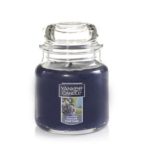 Tuscan Vineyard Small Jar Candle