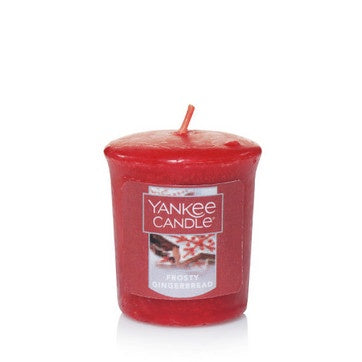Frosty Gingerbread Samplers Votive Candle