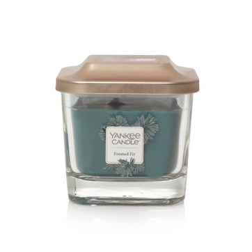 Frosted Fir Small 1-Wick Square Candle