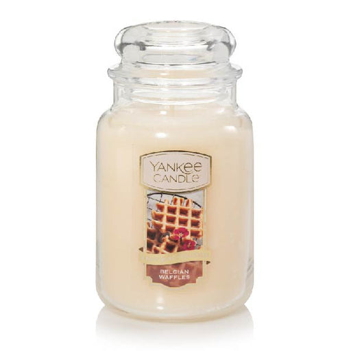 Belgian Waffles Large Jar Candle