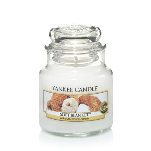 Soft Blanket Small Jar Candle