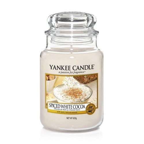 Spiced White Cocoa Large Jar Candle