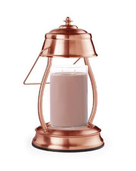 Hurricane Lantern Copper Candle Warmer