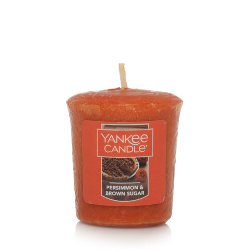 Persimmon & Brown Sugar Samplers Votive Candle