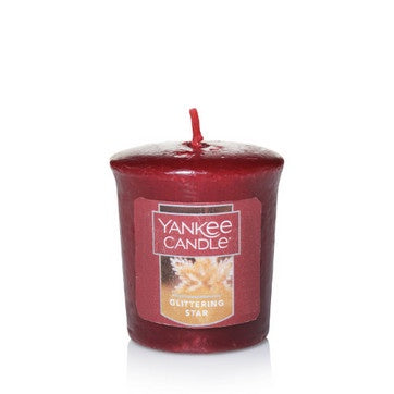Glittering Star Samplers® Votive Candle
