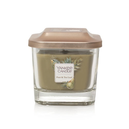 Pear & Tea Leaf Small 1-Wick Square Candle