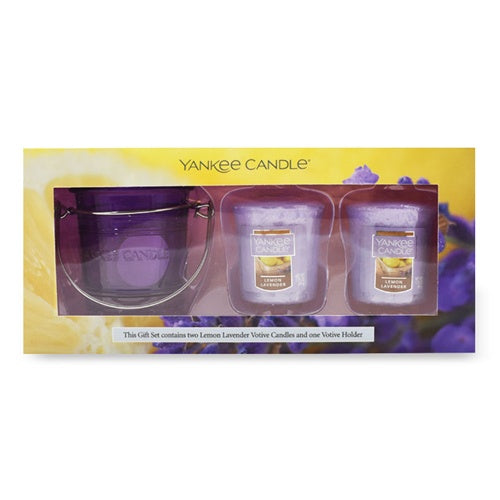 Lemon Lavender Samplers Votive Gift Set
