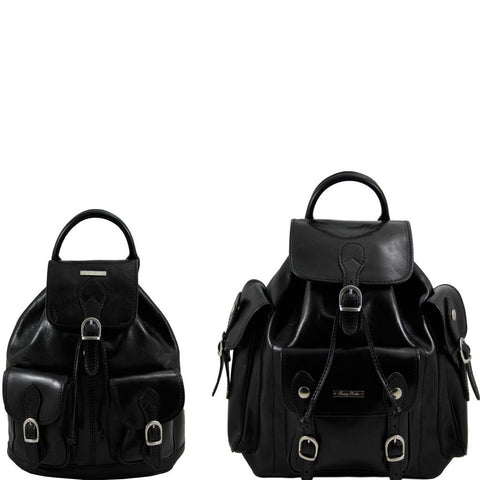 Trekker Travel set Leather backpacks
