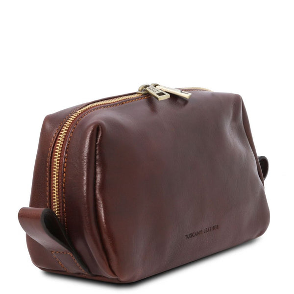 Owen Leather toilet bag