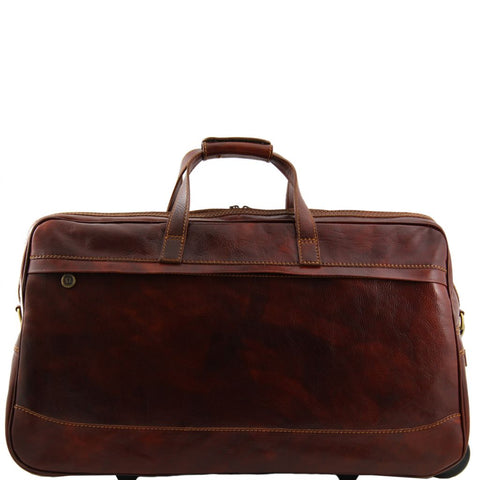 Bora Bora Trolley leather bag - Large size